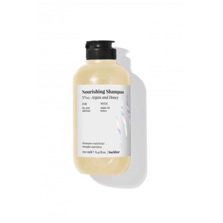 BackBar NOURISING SHAMPOO Č.02 - Arganový olej a Med