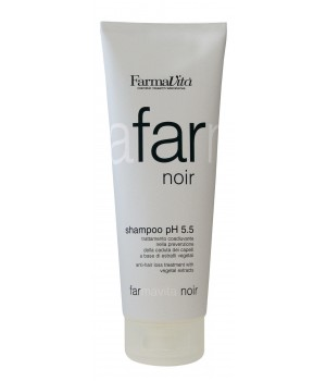 Farmavita Noir Shampoo - Špeciálny šampón pre pánov Ph 5.5