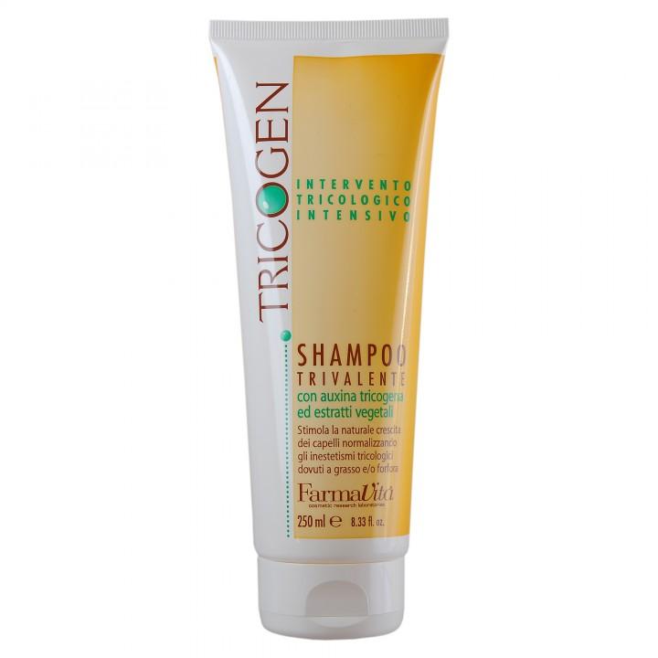 Shampoo tricogen - Trojučinný šampón