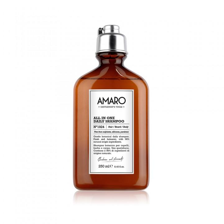 """AMARO  Všestranný šampón na každodenné umývanie  """"Pretrepať, nemiešať!"""""""