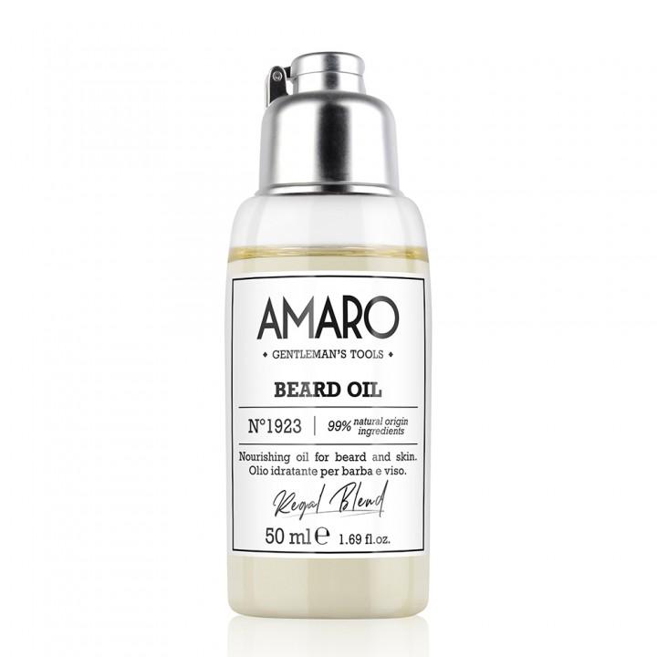"""AMARO  Olej na bradu """"Kráľovská receptúra"""""""