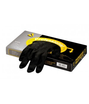 """Latexové rukavice """"Professional Black Gloves"""""""