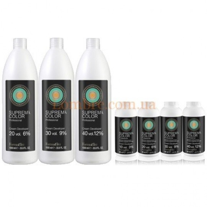 Oxidačná emulzia Suprema Color Cream Developer